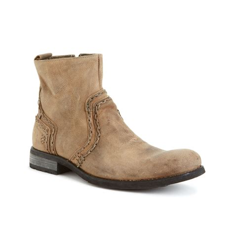 bed stu boots bed stu revolution boots in beige for men tan greenland