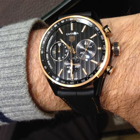 Tag Heuer Space X Rosegold on review calibre 1969 the home of tag