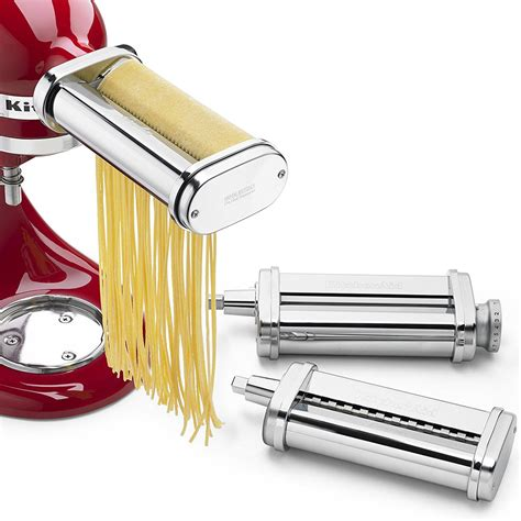 Kitchenaid 3 Pasta Roller Cutter Set kitchenaid 3 pasta roller and cutter for 100 07 shipped