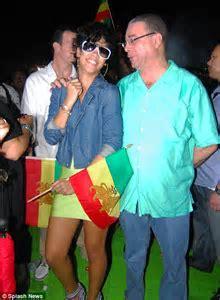 Rihanna parties in Barbados as Chris Brown prepares to