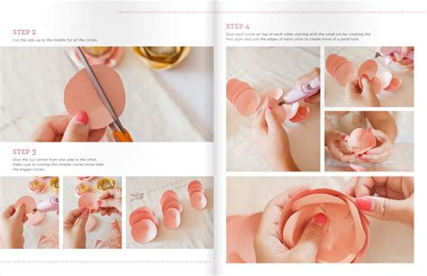 How To Make Handmade Flowers From Paper - diy friday handmade paper flowers in issue 17 utterly