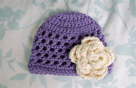 free crochet pattern newborn flower hat alli crafts free pattern open stitch hat newborn