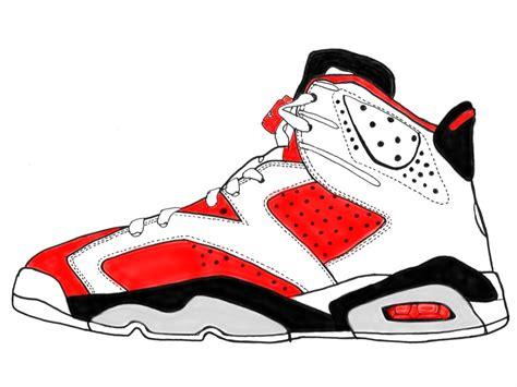 Drawing Jordans by Footwear By Michael Zaleta At Coroflot