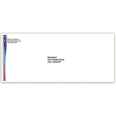 envelope address template invitation template