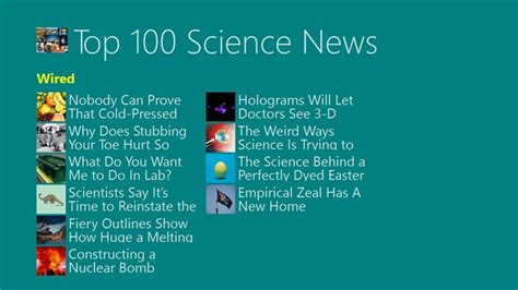 best science news top 100 science news for windows 8 and 8 1