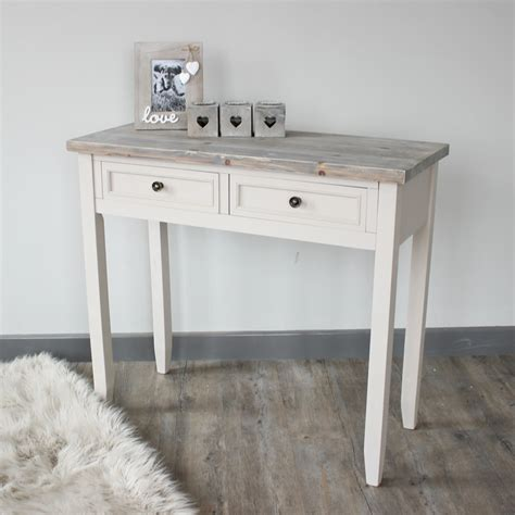 2 drawer console table cotswold range melody maison 174