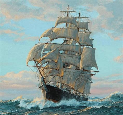 nautical painting 35 best images about saling ships charles vickery on