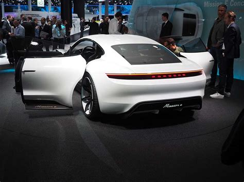 porsche mission e doors porsche unveiled the mission e their electric car