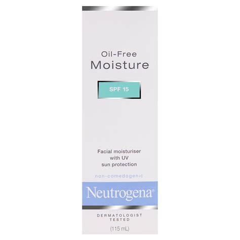 Neutrogena Moisture Spf 15 Free Moisturiser Spf15 Neutrogena 174 Australia