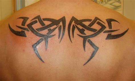 tribal back tattoos for guys 28 awesome tribal back tattoos only tribal