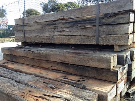 Reclaimed Sleepers by Big Rock Garden Supplies 187 Sleepers