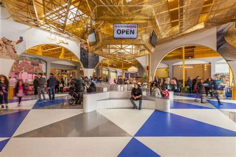 de bazaar indoor market  liong lie architects