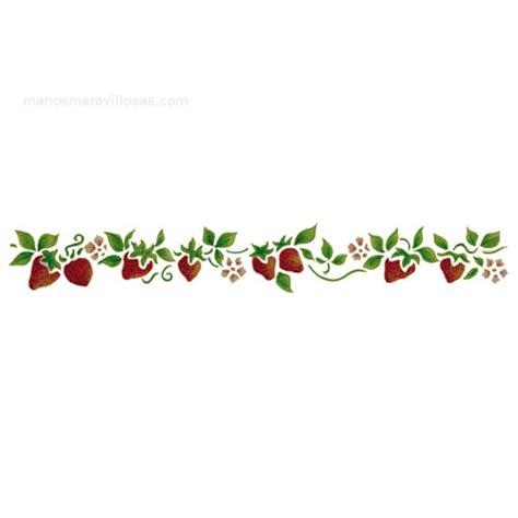 imagenes de cenefas cenefas de flores para pintar en tela imagui