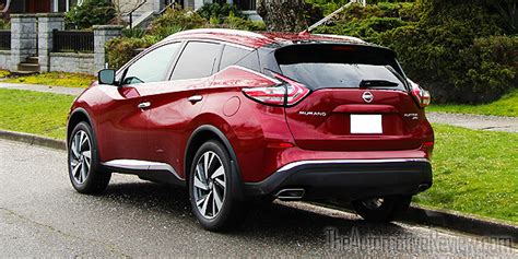 nissan murano red 2016 2016 nissan murano review the automotive review