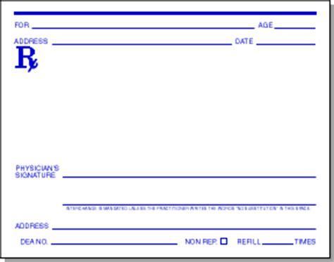 printable prescription paper | printable paper