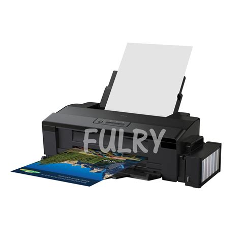 Printer Epson L 1800 epson l1800 printer with fulry pigment ink cmyk lc lm fulry