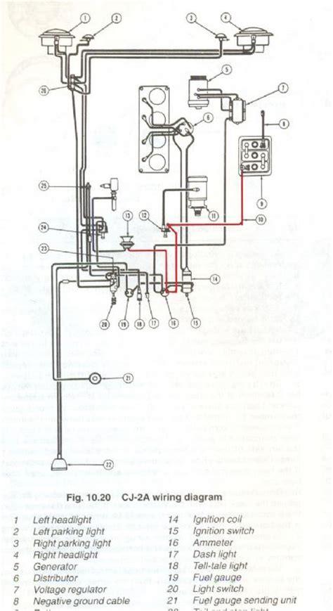 cj2a fuel wiring diagram wiring diagram not center