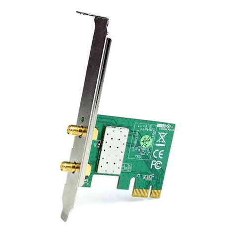 Wifi Card Pci Express pci express wireless n card pcie x1 300 mbps 802 11n g 2t2r startech