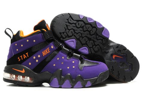 charles barkley new sneakers nike air max2 cb 94 purple black orange charles barkley