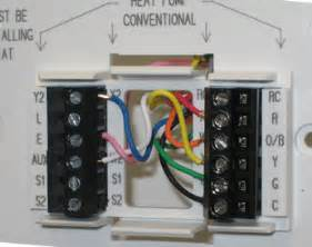 thermostat wiring information prothermostats programmable thermostats by honeywell