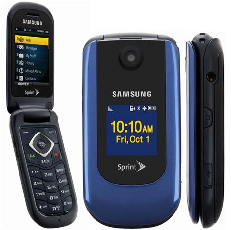 samsung sph m360 bluetooth flip phone sprint