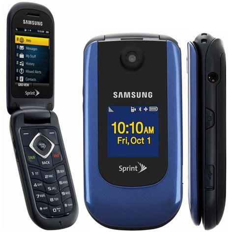 samsung sph m360 bluetooth flip phone sprint