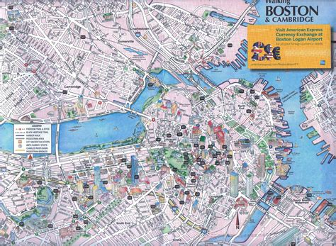 map boston maps update 21051488 tourist map of boston boston printable tourist map 61 similar maps