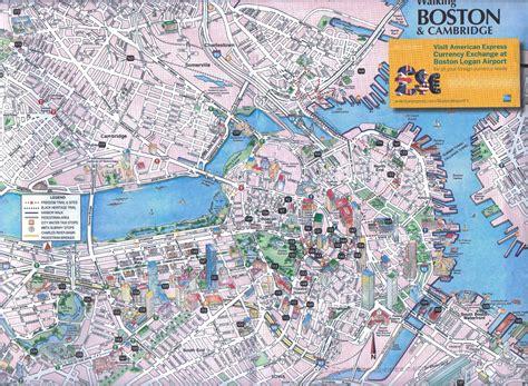 tourist map of boston usa maps update 21051488 tourist map of boston boston