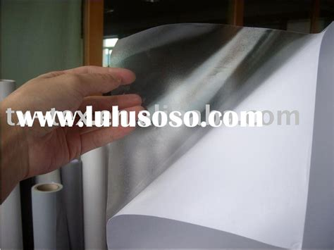 printable vinyl film clear vinyl adhesive printer paper