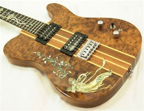 one of a handmade guitars direct from electric guitar