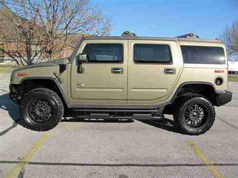 service manuals schematics 2005 hummer h2 seat position control service manual 2005 hummer h2 3rd seat manual purchase used 2005 hummer h2 lux loaded 6 0l