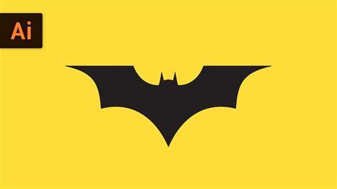 tutorial logo batman how to draw the batman logo illustrator tutorial youtube