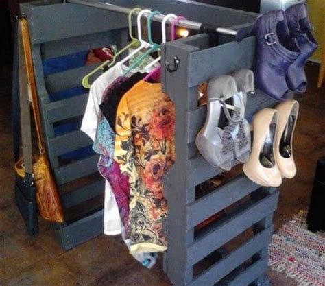 diy clothes storage diy pallet shoe racks for your storage pallet furniture diy