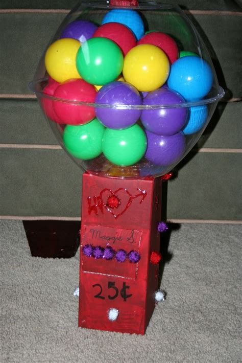 gumball machine valentines lessons 101 creative box ideas 1