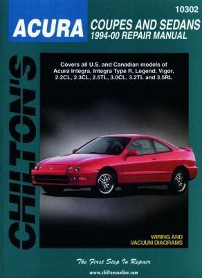 find chilton 10300 repair manual acura coupes sedans 1986 1993 integra legend vigor motorcycle acura integra diy repair manual from chilton