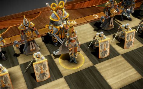 Cool Chess Pieces by An Ancient Battle Between Light And Dark Comes To Life
