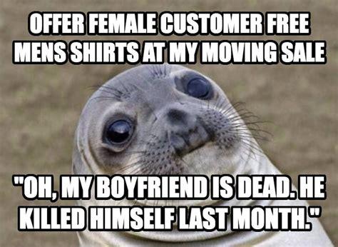 Free At Last Meme - livememe com uncomfortable situation seal