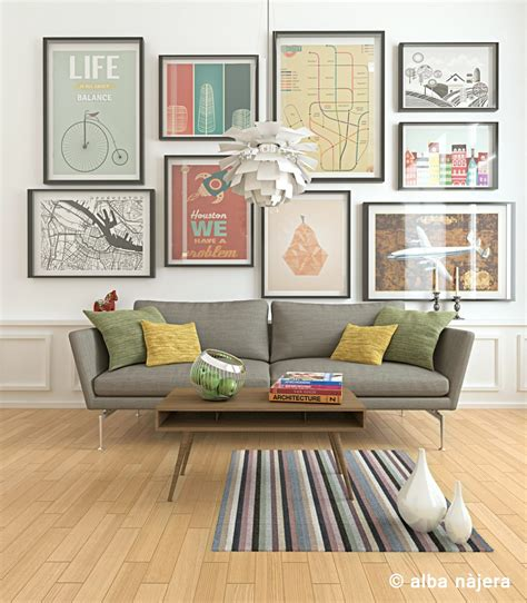 cheap  cheerful living room decor ideas
