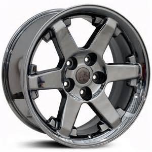 Dodge Truck Chrome Wheels Dodge 20x9 Ram Dg63 Pvd Black Chrome Mid Wheels Rims