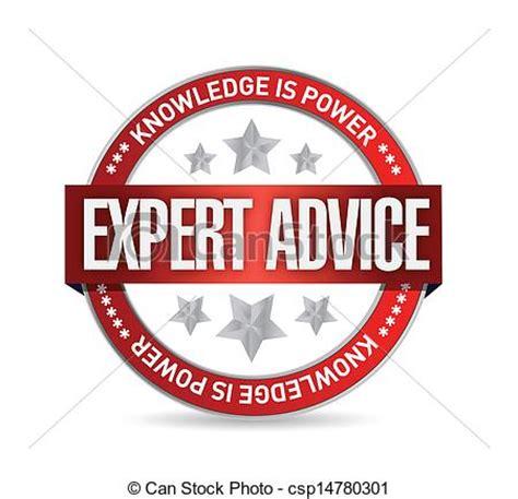 home design expert advice vector clipart of expert advice seal illustration design