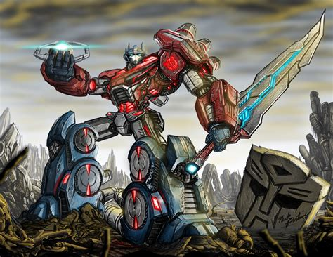 transformers painting transformers fall of cybertron fan by partin arts on