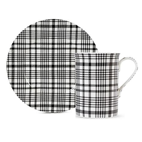 Black And White Checkered Kitchen Ware by Maxwell Williams Deco Tartan Plaid