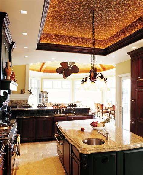 ceiling ideas for kitchen bronze pendant tray lights kitchen ceiling ideas