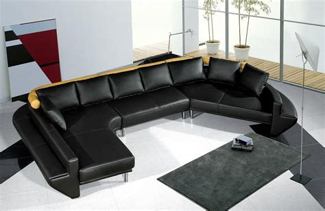ultra modern sectional sofa ultra modern black leather sectional sofa