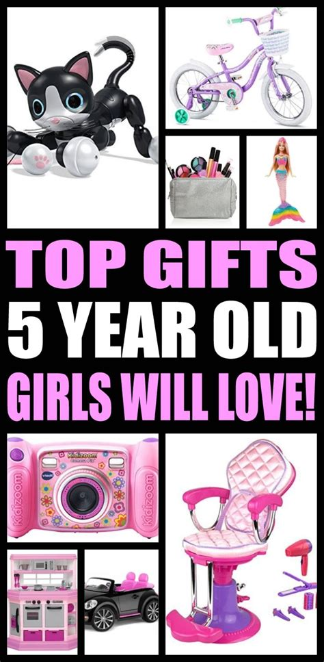 top gifts for 5 year old girls want