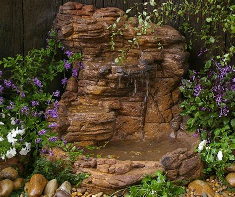 backyard waterfalls kits small garden waterfall pond kit patio garden waterfalls