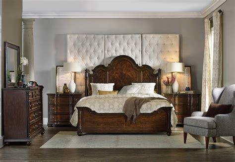 hooker bedroom hooker furniture leesburg wood panel bed bedroom set