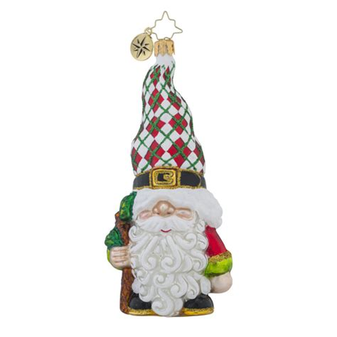 christopher radko ornaments radko gnome for the holidays