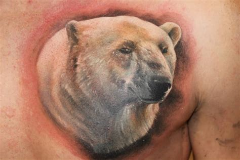 polar bear tattoo images designs