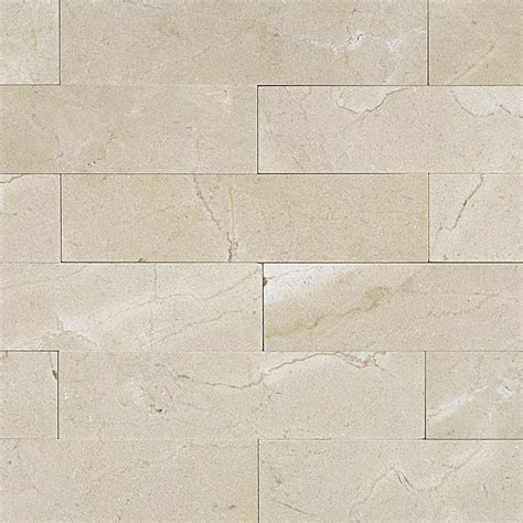 shop 9 pcs sq ft crema marfil 2x8 brushed tile at tilebar